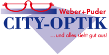 Logo CITY-OPTIK Weber + Puder